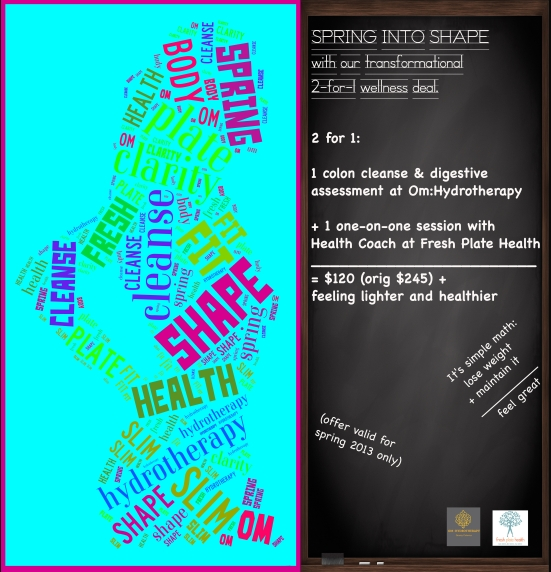 spring into shape flyer
